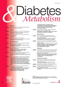 couverture du journal Diabetes & Metabolism