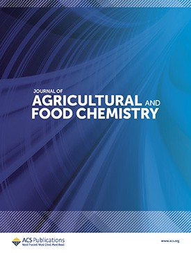 Couverture du Journal of agricultural and food chemistry Volume 55, Issue 12