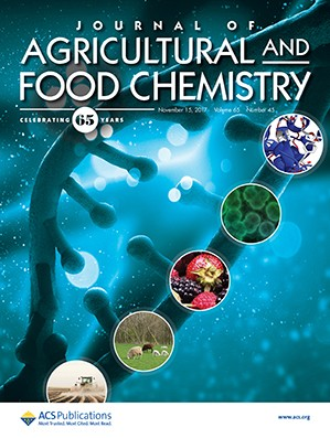 Couverture du Journal of agricultural and food chemistry Volume 65, Issue 45